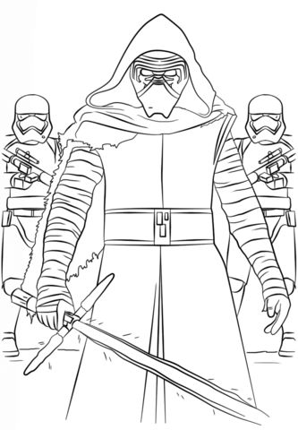 star wars the force awakens coloring pages - Google Search