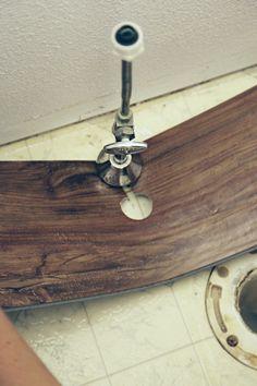 Tips for installing trafficmaster allure vinyl plank flooring in a bathroom