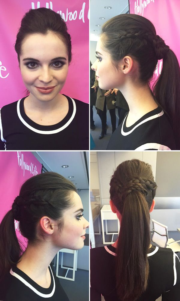Vanessa Marano's Hair — Get Her Braided Ponytail In 5 EasySteps