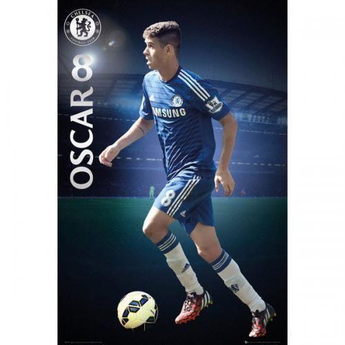 SoccerGaga.com - OFFICIAL Chelsea F.C. Poster Oscar 64, $18.99 (http://www.soccergaga.com/chelsea-f-c-poster-oscar-64/)