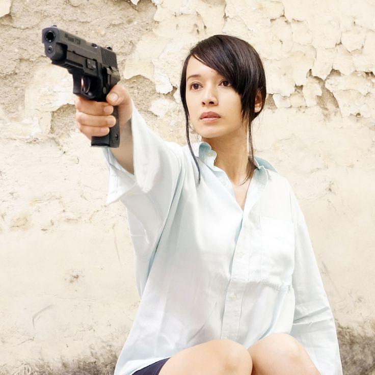 airsoft girl, girls army, army woman, milsim operator, gun & girl, semarang skirmish team, P226 Mk25, airsoft international, cosplay girl, kunticamp semarang, icha swan