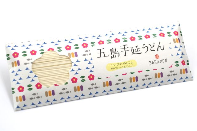五島手延うどん Noodles I think in unusual #packaging PD