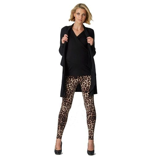 Cheetah maternity legging #ohswag #stylishmamas #mamafashion