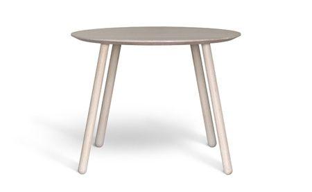 Round table OX - www.miloni.pl/en MILONI: wooden table, oak table, natural wood table, table design, furniture design, modern table
