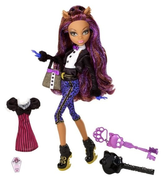 Amazon.com: Monster High Sweet 1600 Clawdeen Wolf Doll: Toys & Games