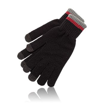 Classic Stripe Smartphone Gloves
