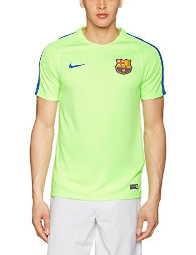 Cheap Nike Men Dry Squad Top FC Barcelona Training Jersey (Ghost Green) Father day sale