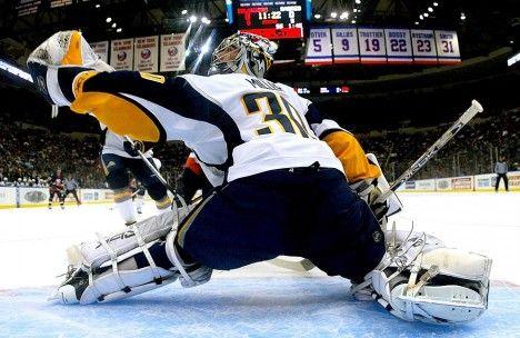 Ryan Miller works to stop more than just pucks. #charity #NHL #hockey #Buffalo #Sabres
