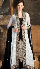 pakistani open gowns - Google Search