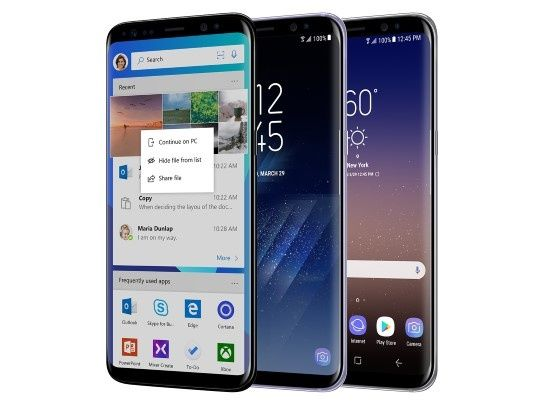 Microsoft is selling Samsung's Android phones - Liliputing