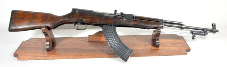 """Norinco SKS 7.62x39 with Wood Stock and Bayonet.The SKS is a semi-automatic carbine chambered for the 7.62x39 round. This Norinco SKS features a wood stock, folding rear sigtht, hooded front sight, and functioning folding 9-inch bayonet. All visible serials match. Imported by C.A.I. 30-round mag. 20.5"""" barrel. [Pre-owned] $400.00"""
