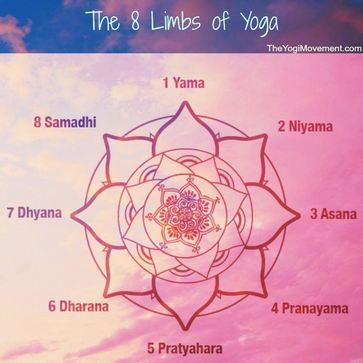 Ashtanga literally translates to eight limbs in Sanskrit. These are outlined in Patanjali's Yoga Sutras and they are the fundamental core of all Yoga