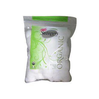 Swisspers Organic Triple Size Cotton Balls - 80 Pack www.shopngo.us