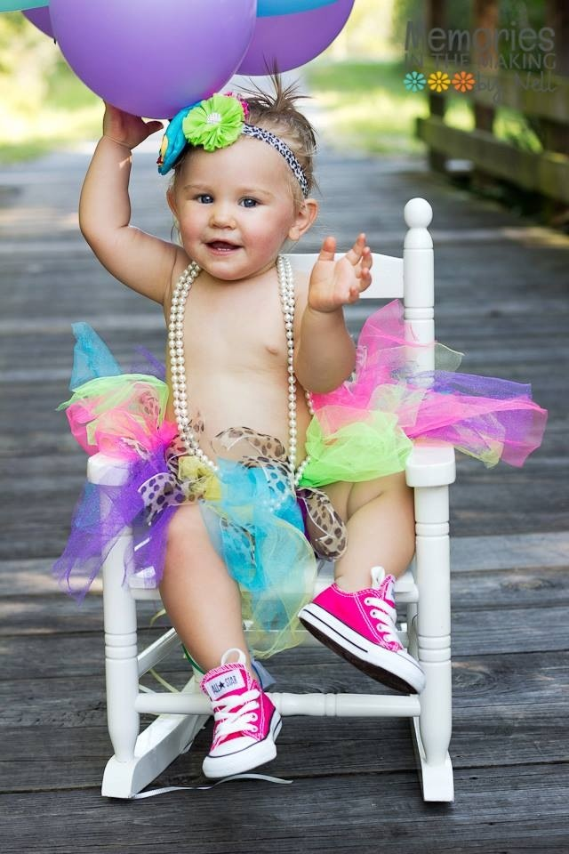 First birthday photo... OMG the shoes are a must!!!