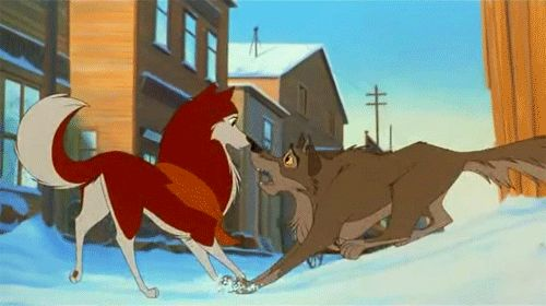 BALTO. If only I could find it on blu ray somewhere. I think my VHS copy is finally dead. :(