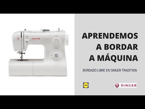 MÁQUINA SINGER TRADITION LIDL// ACCESORIOS INCLUIDOS