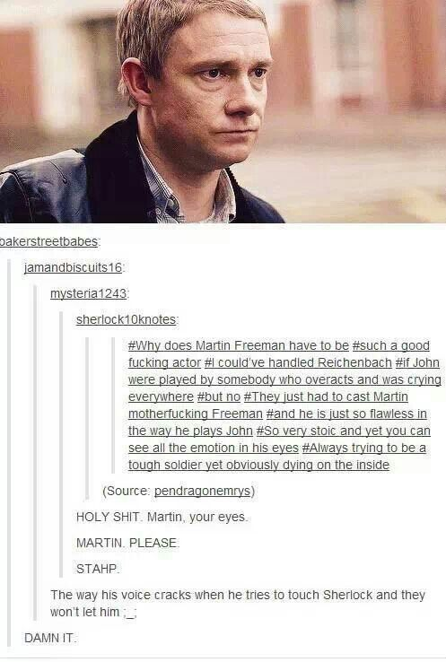 DAMN IT ALL Sherlock is even back and I still can't handle the feels with the fall!!