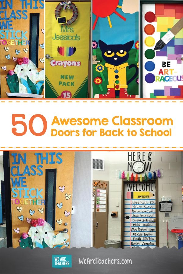 65 Awesome Classroom Doors For Back To School School Doors