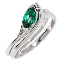 Engagement ring + Wedding ring
