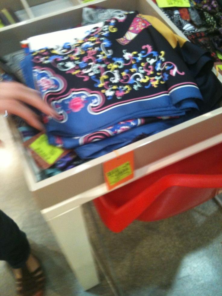 Etro silk scarf @Convivio 2012
