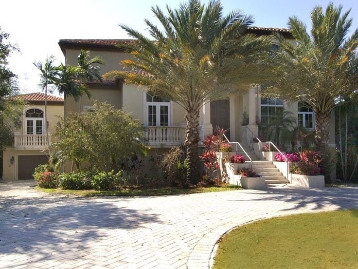 Oceanfront luxury home situated on 1.84 acres of pristine waterfront. Mediterranean style home, 3 years old, 5,100 sq. ft. of A/C space. Spacious gourmet kitchen with stainless steel appliances, marble counter ...