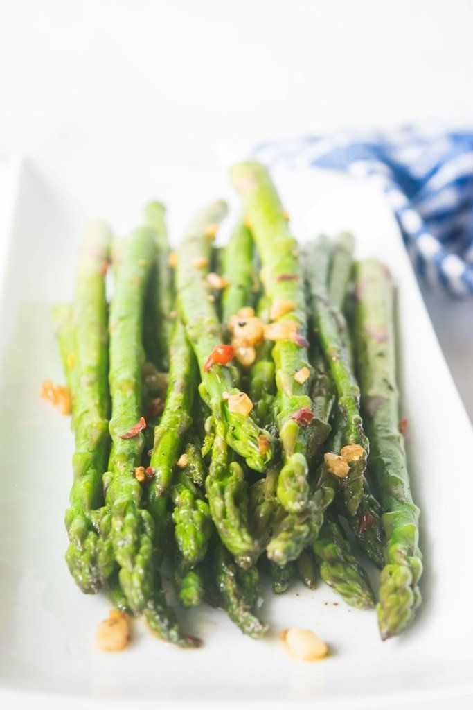 An easy 15 minute sauteed asparagus recipe that will transform asparagus to a gourmet side! This impressive side dish is perfect for busy weeknights or to serve guests. | thelastcookie.ca