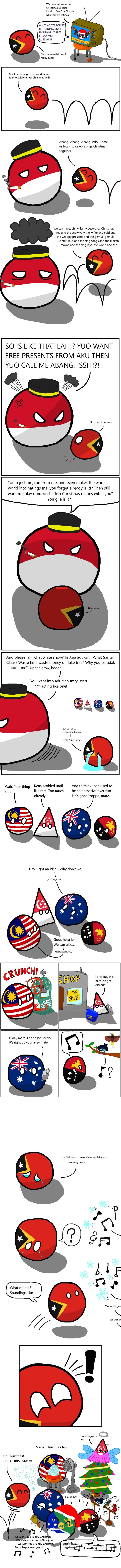 Me meaning of polish flag - Christmastime For East Timor