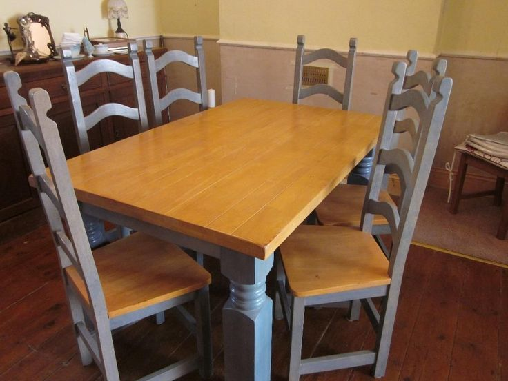 Table N 6 Chairs REDUCED