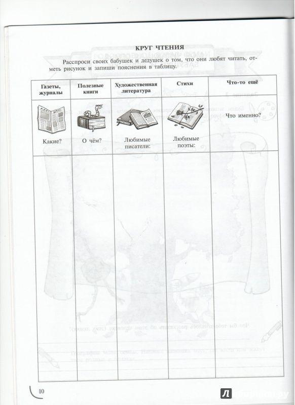 Иллюстрация 3 из 11 для Учимся успешному чтению. 5 класс. Книжное дерево моей семьи. Портфель читателя. ФГОС - Галактионова, Назаровская | Лабиринт - книги. Источник: Ноженко  Андрей