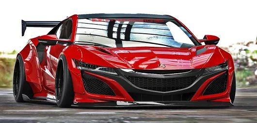 2017 Acura NSX Liberty Walk