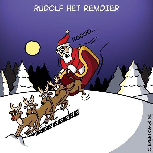 8 cartoons voor een vrolijke kerst - Evert Kwok