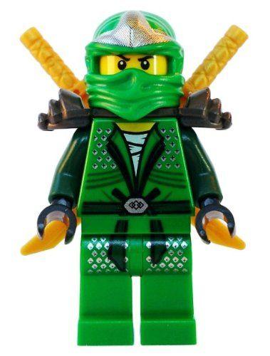 Lloyd zx green ninja with dual gold swords lego - Ninjago lego lloyd ...