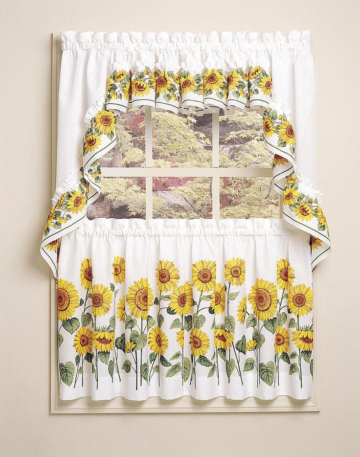 25 best ideas about kitchen curtain designs on pinterest