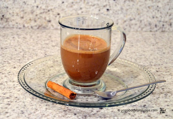 Ароматный кофейный коктейль (бананово-кофейный смузи)