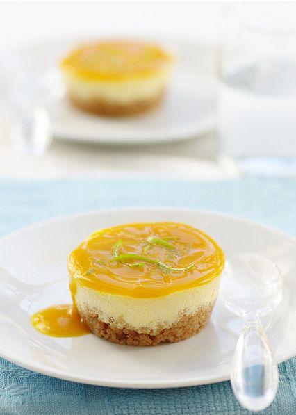 Cheesecake mangue-passion inspiré de Christophe Michalak