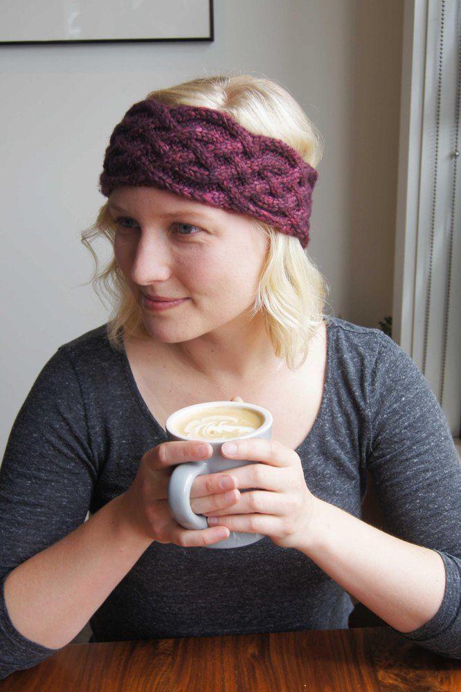 a1b70847343 Celtic Headband Knitting pattern by Juliana Lustenader