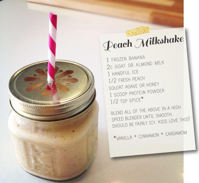 peach milkshake: Idea, Kids Tastic, Pure Mama, Kids Pur Mama