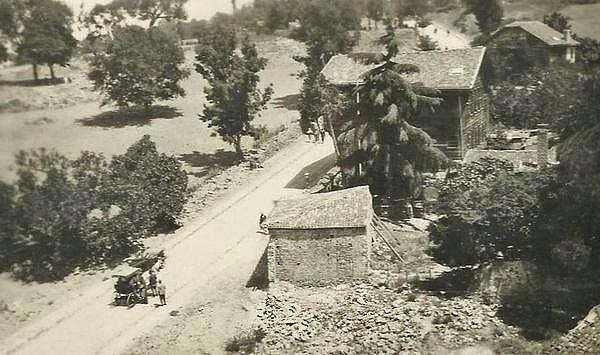 Kısıklı Büyük Çamlıca Caddesi (1920'li yıllar)
