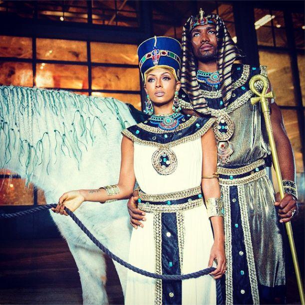 Keri Hilson & Serge Ibaka Win Halloween In Egyptian Costumes (PHOTOS) | Global Grind