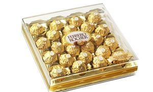 Groupon - Ferrero Rocher 24-Piece Chocolate-Truffle Gift Box in Online Deal. Groupon deal price: $13.99