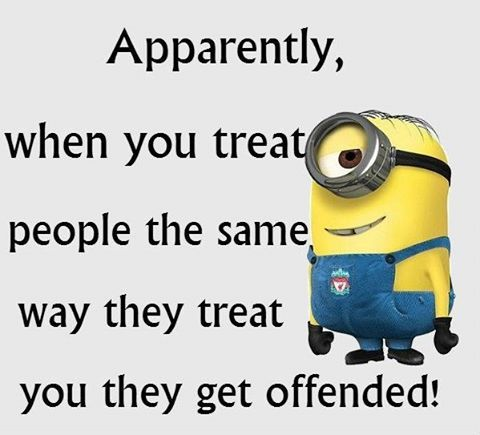 Sarcastic offended quote