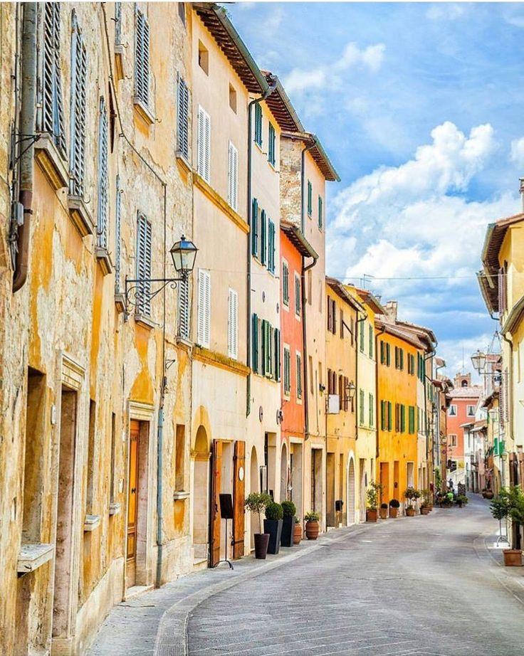 Val D'Orcia, Toscana, Itália