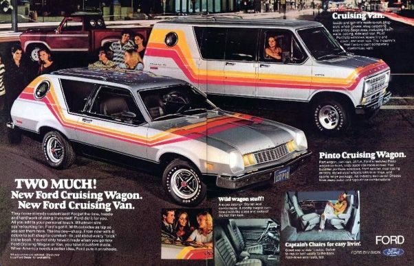 Ford Pinto Cruising Wagon and Van.