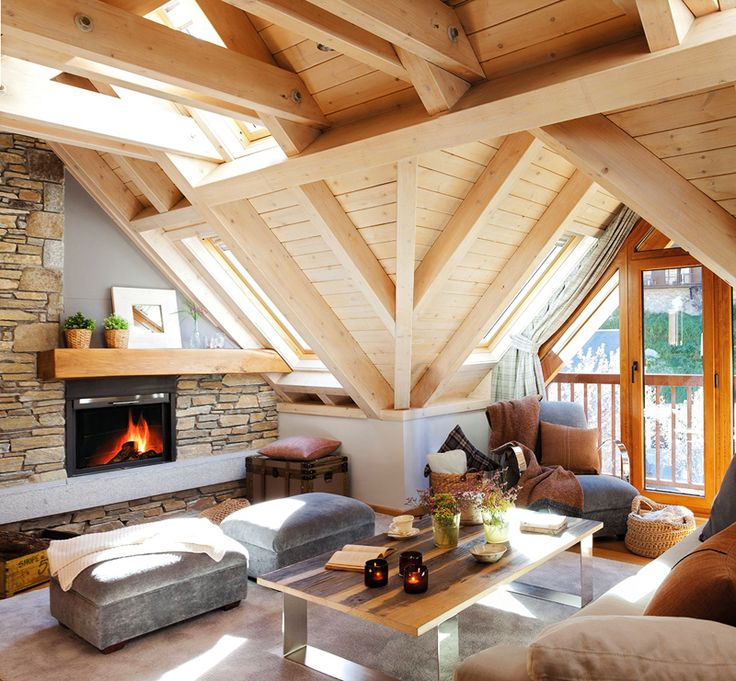 Small and Cozy Mountain Tiny Cottage in Val d'Aran, Spain | http://www.designrulz.com/design/2014/07/small-cozy-mountain-tiny-cottage-val-daran-spain/