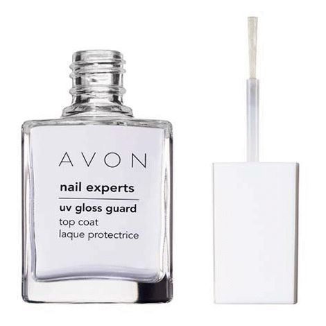You will love this product from Avon:  Nail ExpertsUV Gloss Guard Top Coat