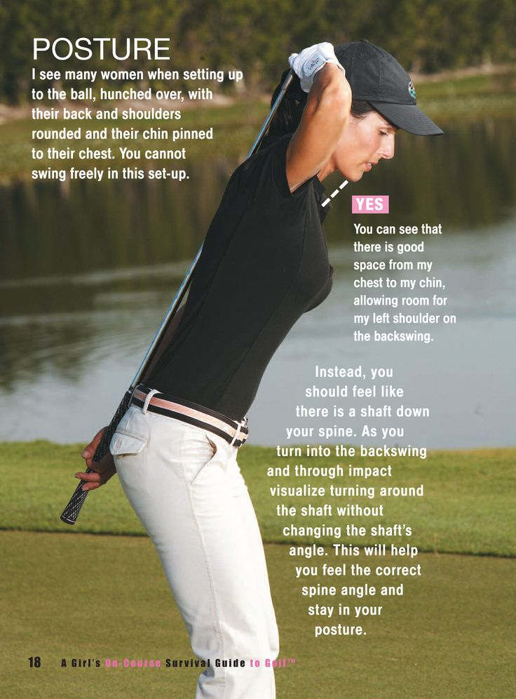 Good posture for good shots! Check it out! #golf #lorisgolfshoppe