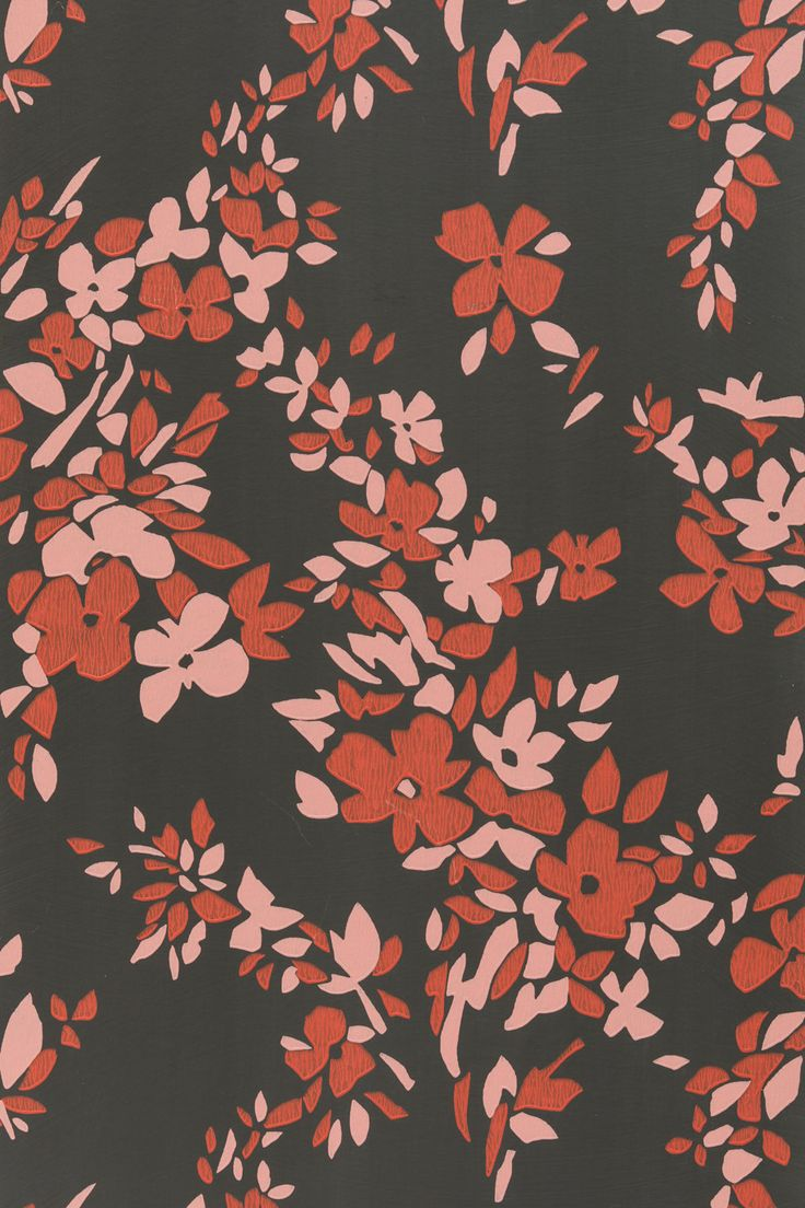 I can't stop-I love them all. One of the three new wallpapers recently introduced. Available at our Edina location. 952-927-4647