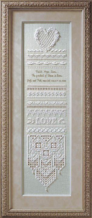 click here to view larger image of Heirloom Wedding Sampler (chart)