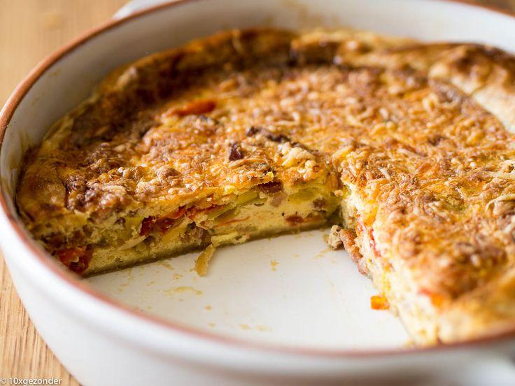 Deze Quiche Lorraine met prei en tomaat is een variant op het klassieke recept. Het klassieke recept van Quiche Lorraine is een taart van korstdeeg gevuld met spek, eieren, Crème Fraiche en kaas. Maar om er toch een wat gezonder twist aan te geven, heb ik er nog wat groente toegevoegd. En ook wat minder […]