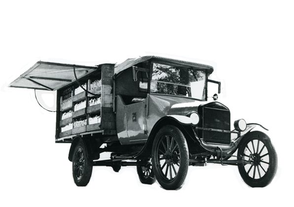 Am 25. August 1925 schickte Gottlieb Duttweiler seine ersten fünf Wagen auf die Strasse. Sechs Artikel standen im Regal. Kaffee, Reis, Zucker, Teigwaren, Kokosfett und Seife.